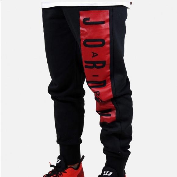 36c10091d44 Nike Pants | Mens Jordan Jumpman Brushed Graphic Pant | Poshmark